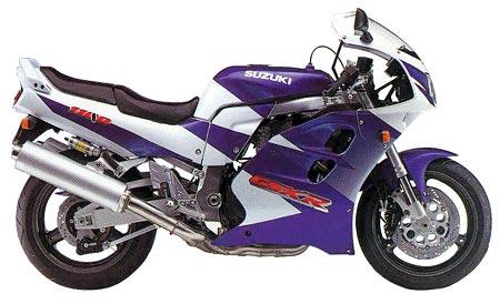 Permalink to Purple Suzuki Motorcycle