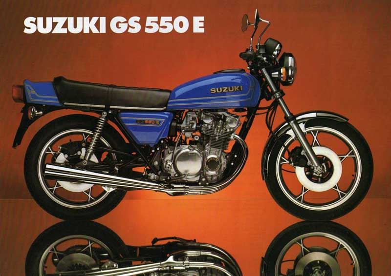 Gs on 1977 Suzuki Gs 550