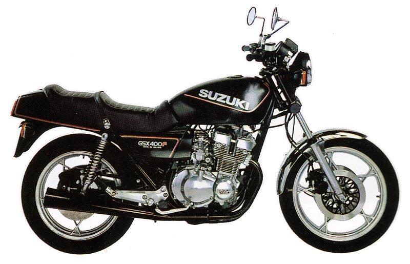 GSX 400 F Modell 1981