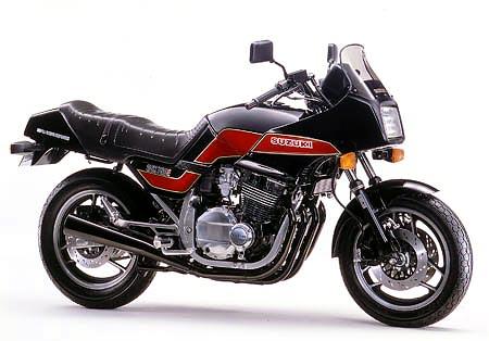 Suzuki Gsx F Bj